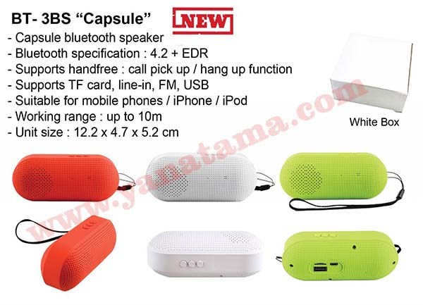 Bluetooth Speaker Capsule Bt 3bs  600x400